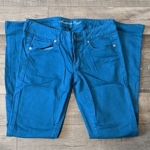 3 for $20 American Eagle Blue Skinny Jeans Pants 6